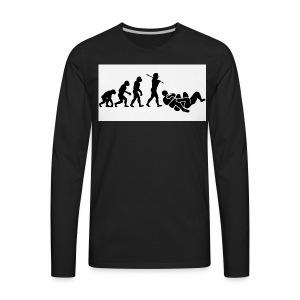 jits - Men's Premium Long Sleeve T-Shirt