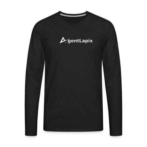 Agent Lapix Logo - Men's Premium Long Sleeve T-Shirt