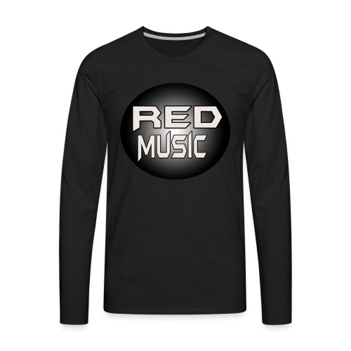 Red Music Logo 2017 - Men's Premium Long Sleeve T-Shirt