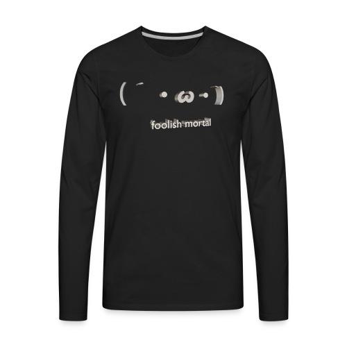 FOOLISH - Men's Premium Long Sleeve T-Shirt