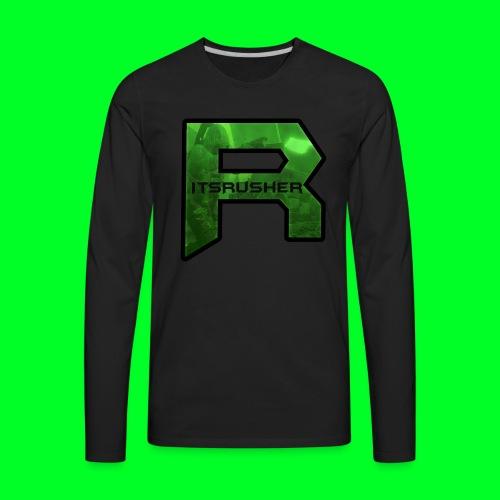 ItsRusher 2018 Logo - Men's Premium Long Sleeve T-Shirt