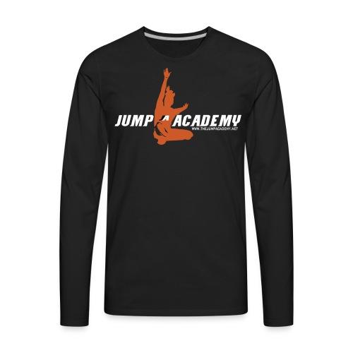 Jump Academy Logo - Men's Premium Long Sleeve T-Shirt