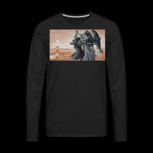 Modern World - Men's Premium Long Sleeve T-Shirt