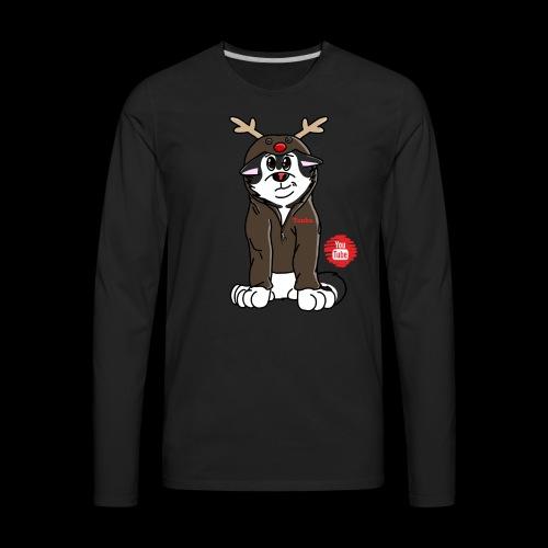TonkaReindeerYouTube - Men's Premium Long Sleeve T-Shirt