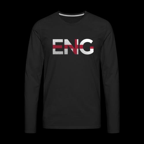 England Football - Men's Premium Long Sleeve T-Shirt