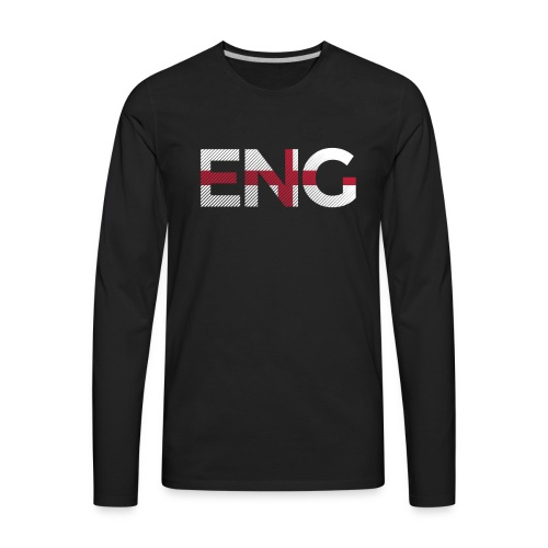 England Football - Men's Premium Long Sleeve T-Shirt