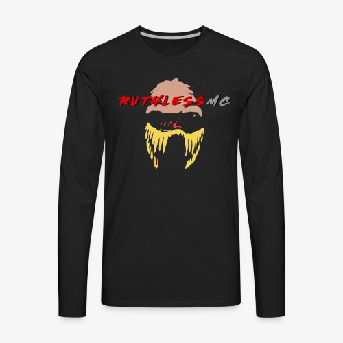 ruthless mc color logo t shirt - Men's Premium Long Sleeve T-Shirt