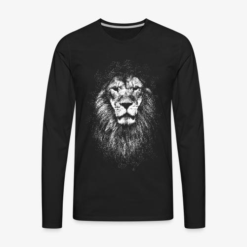 white lion - Men's Premium Long Sleeve T-Shirt