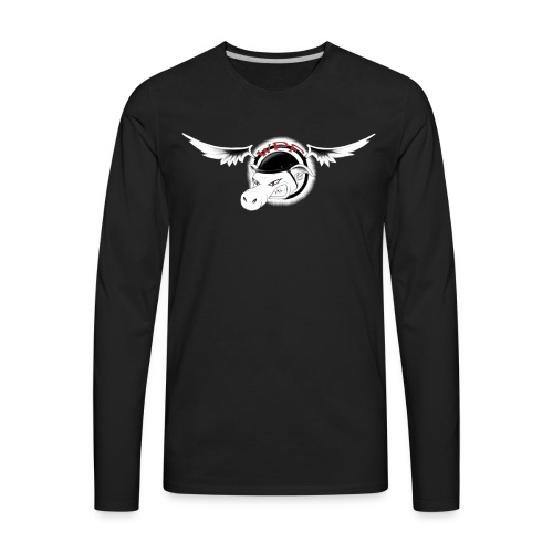 WhenPigsFly Logo - Men's Premium Long Sleeve T-Shirt