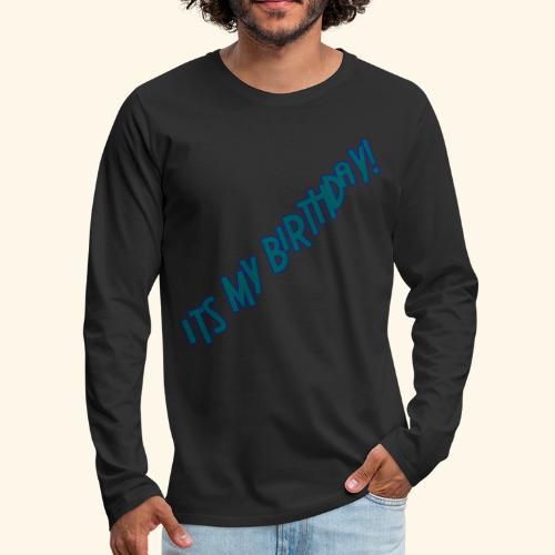 IMB summer 2018 - Men's Premium Long Sleeve T-Shirt