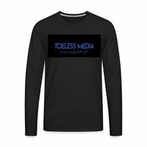 Toeless Media Japanese - Men's Premium Long Sleeve T-Shirt