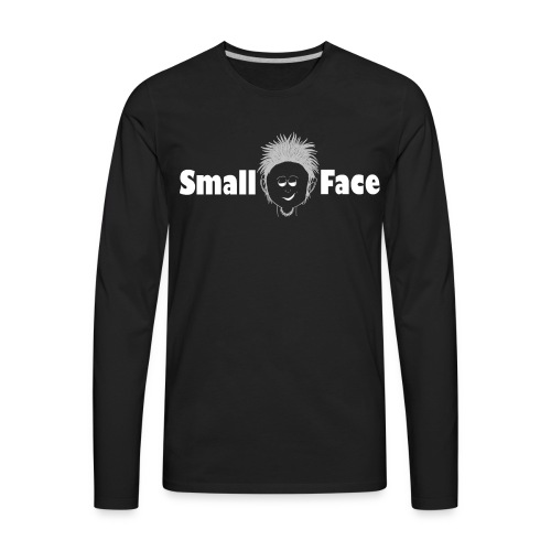 Small Face Logo - Men's Premium Long Sleeve T-Shirt