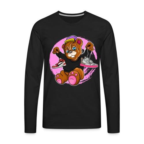 Fashion Bear Sneakerhead - Men's Premium Long Sleeve T-Shirt