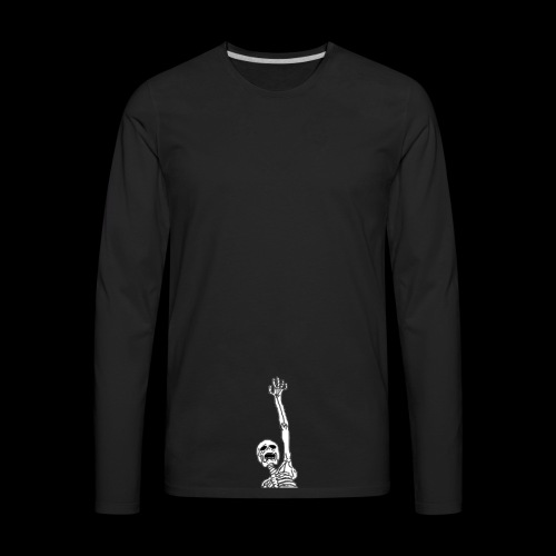 Skelton (any color) - Men's Premium Long Sleeve T-Shirt