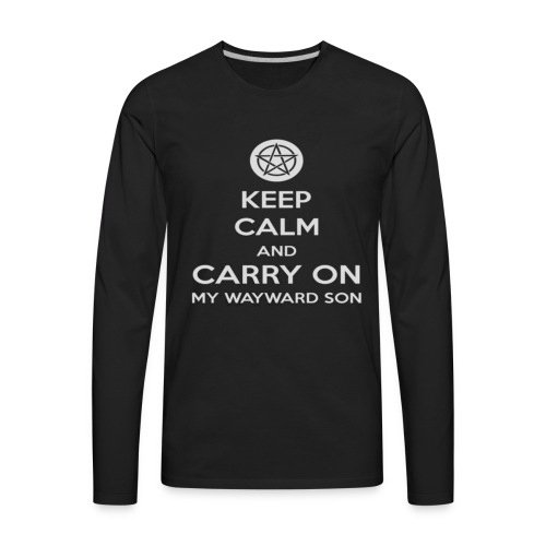 Keep Calm Shirt - Men's Premium Long Sleeve T-Shirt