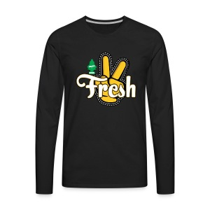 2Fresh - Men's Premium Long Sleeve T-Shirt