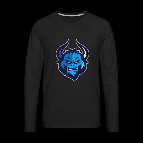 RarestUsername's Logo - Men's Premium Long Sleeve T-Shirt