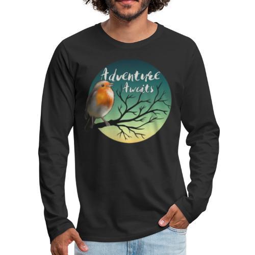 Adventure awaits - Men's Premium Long Sleeve T-Shirt