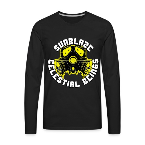 SUNBLAZE X YELLOWJACKET LOGO T SHIRT - Men's Premium Long Sleeve T-Shirt
