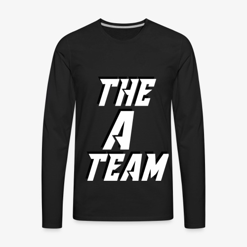 THE A TEAM - Men's Premium Long Sleeve T-Shirt