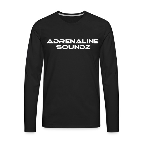 Adrenaline Soundz - Men's Premium Long Sleeve T-Shirt