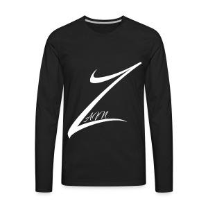 Zain's Logo - Men's Premium Long Sleeve T-Shirt