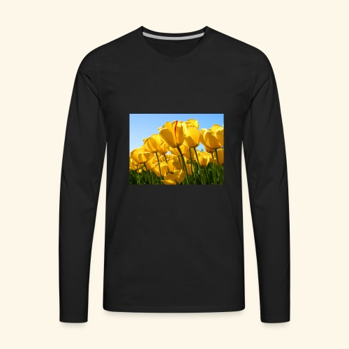 Tulips - Men's Premium Long Sleeve T-Shirt