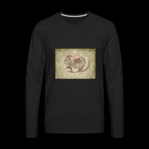 chinchilla TWITCH episode fin episode 5 - Men's Premium Long Sleeve T-Shirt