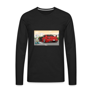 evo and sonic - Men's Premium Long Sleeve T-Shirt