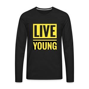 Live Young - Men's Premium Long Sleeve T-Shirt