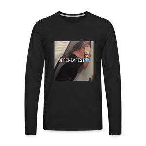 Official Offendafest Brand Trademarked Logo - Men's Premium Long Sleeve T-Shirt