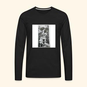 HAUNTED - Men's Premium Long Sleeve T-Shirt