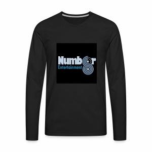 NUMBER8ENTERTAINMENT - Men's Premium Long Sleeve T-Shirt