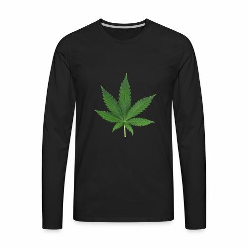Cannabis - Men's Premium Long Sleeve T-Shirt