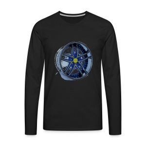 HotWheels Rim Shirt - Men's Premium Long Sleeve T-Shirt