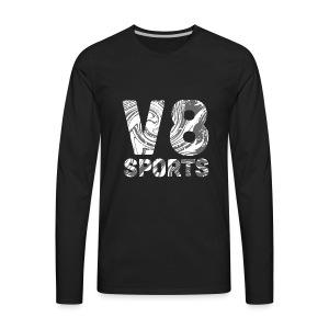 v8Sports Confusion Print - Men's Premium Long Sleeve T-Shirt