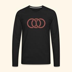 circle paradox - Men's Premium Long Sleeve T-Shirt