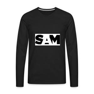 sam t-shirts - Men's Premium Long Sleeve T-Shirt
