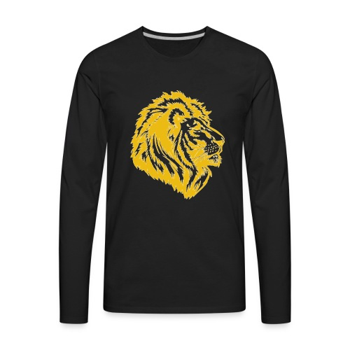 golden lion - Men's Premium Long Sleeve T-Shirt