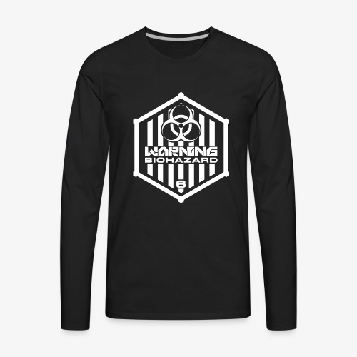 Warning: Biohazard - Men's Premium Long Sleeve T-Shirt