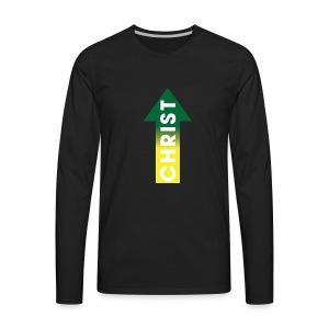 Christ up - Men's Premium Long Sleeve T-Shirt