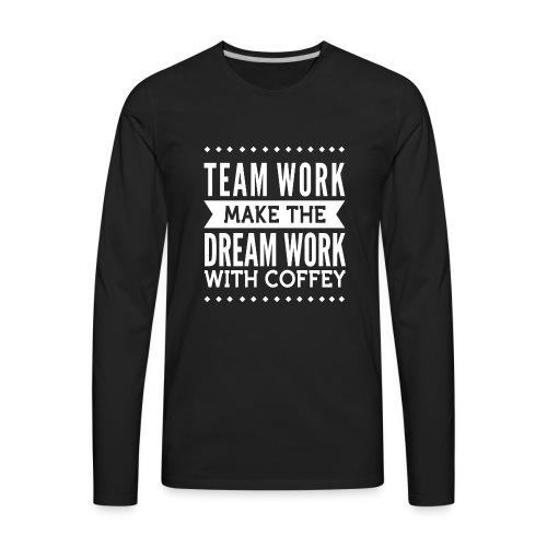 coffey - Men's Premium Long Sleeve T-Shirt