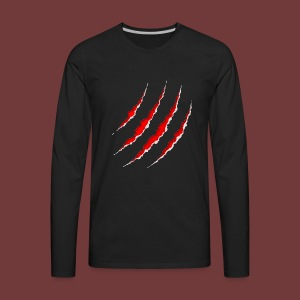 The Tiger Claw - Men's Premium Long Sleeve T-Shirt