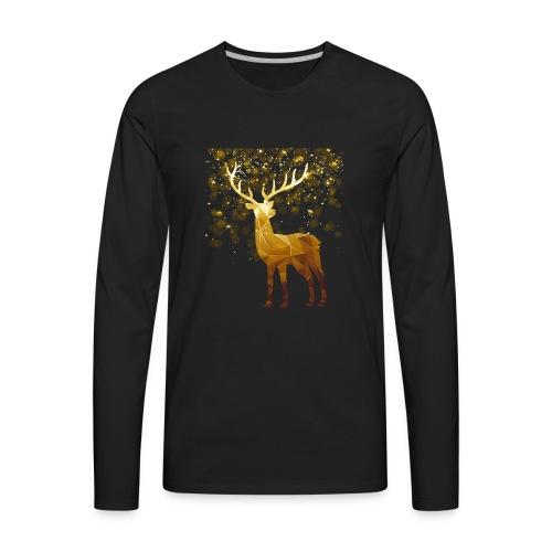 Deer Lover T shirt - Men's Premium Long Sleeve T-Shirt