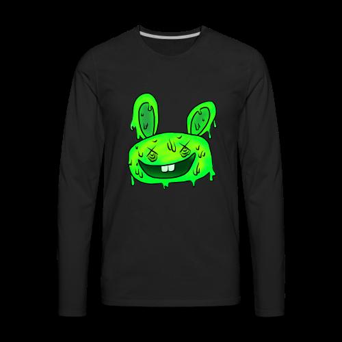 5 steps' bunny - Men's Premium Long Sleeve T-Shirt