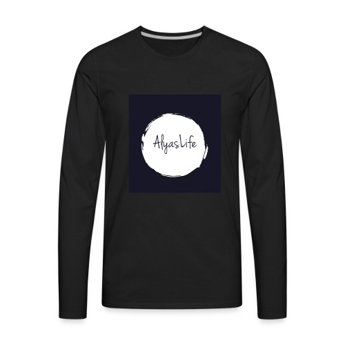 Alyaa Williams - Men's Premium Long Sleeve T-Shirt
