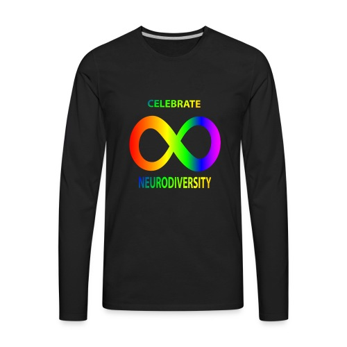 NEURODIVERSITY - Men's Premium Long Sleeve T-Shirt