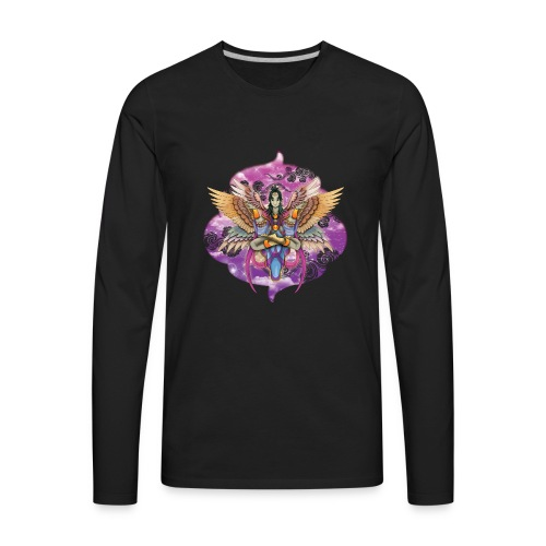 Harpy goddess - Men's Premium Long Sleeve T-Shirt