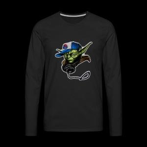 dj yoda - Men's Premium Long Sleeve T-Shirt