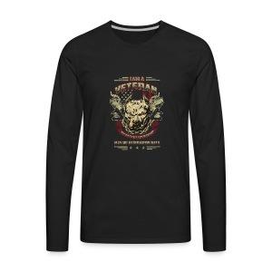 Logo Shirt War - Men's Premium Long Sleeve T-Shirt
